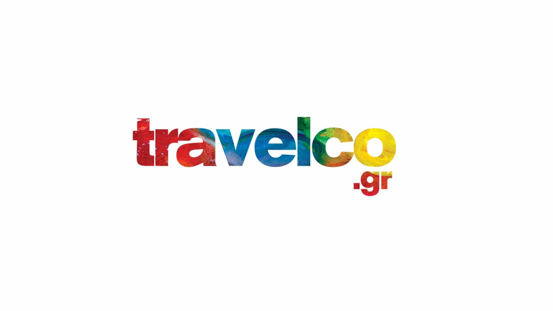 Travelco logo negative