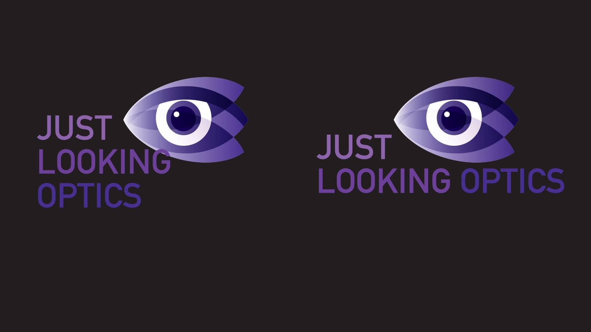 Just Looking Optics Γραφίστας Σπύρος Ηλιόπουλος