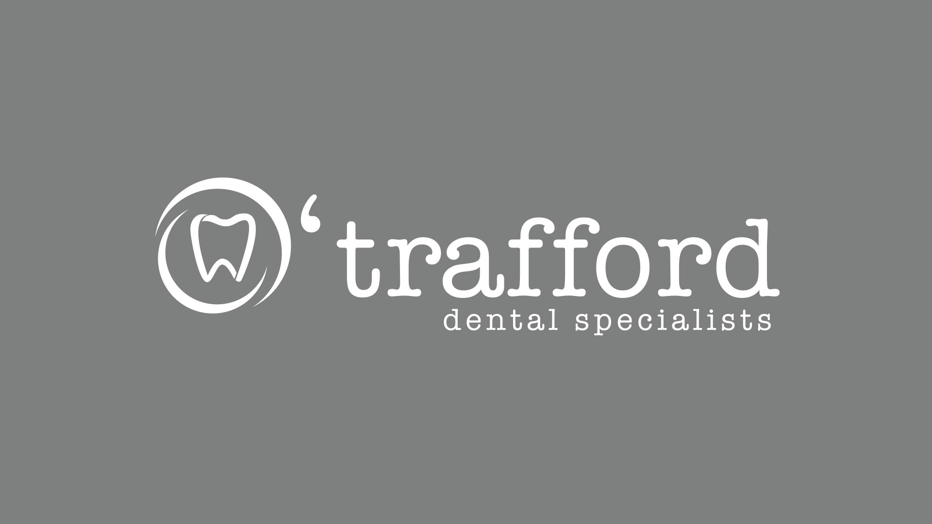 O'Trafford Dental Specialists Γραφίστας Σπύρος Ηλιόπουλος